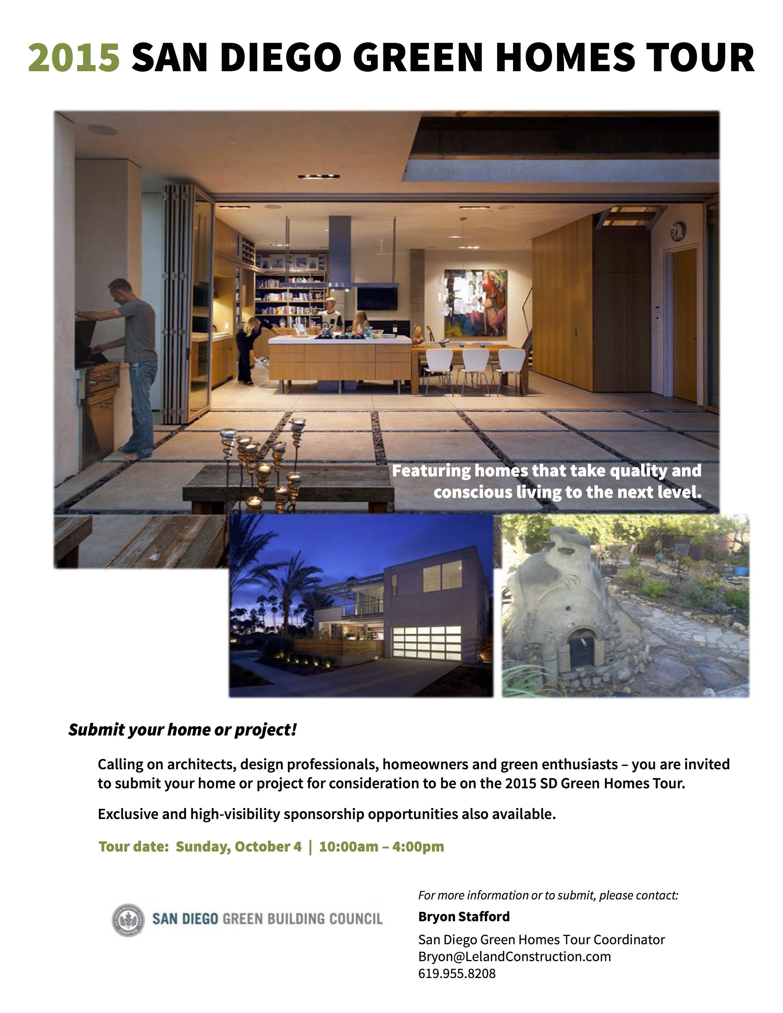 2015 green home tour flyer2_save date | alliance green builders