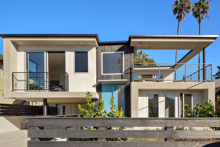 modern home in solana beach