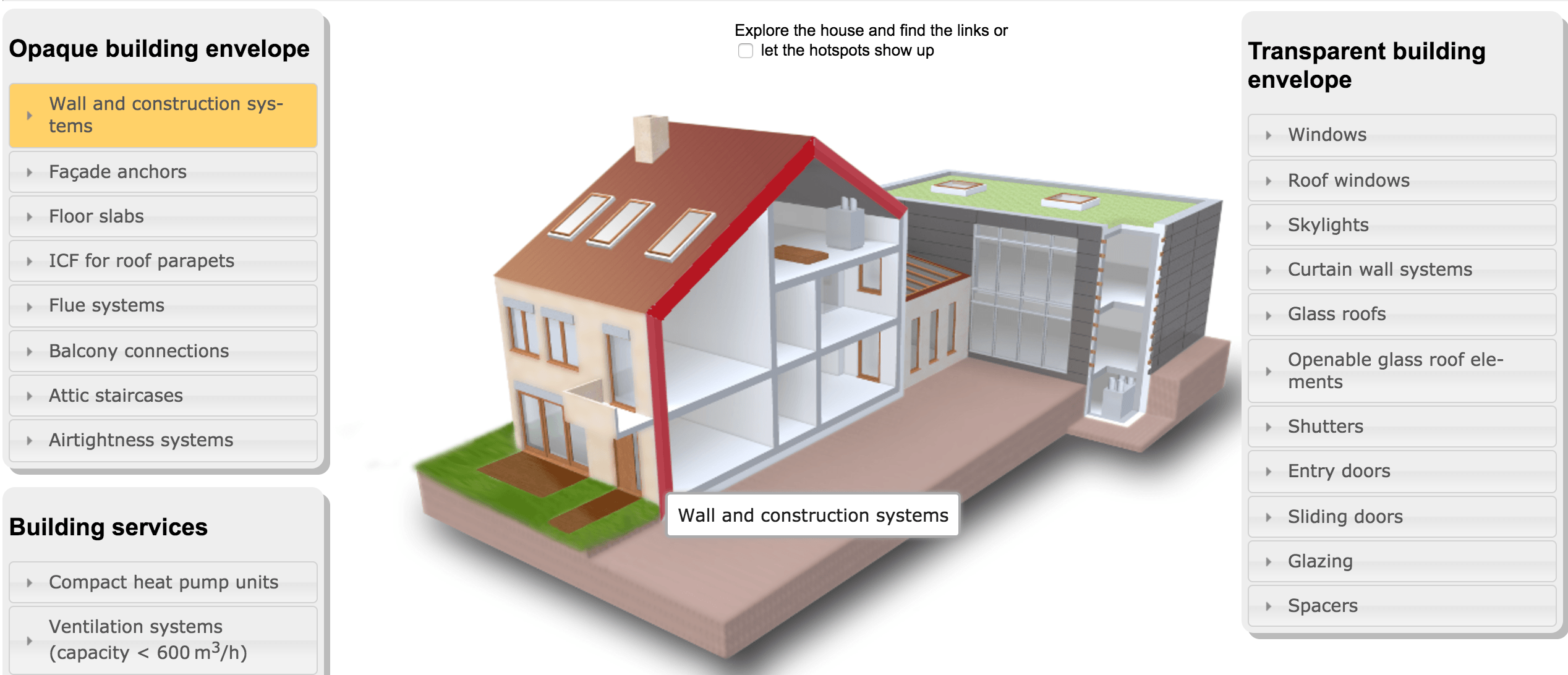 Passive House interactive diagram