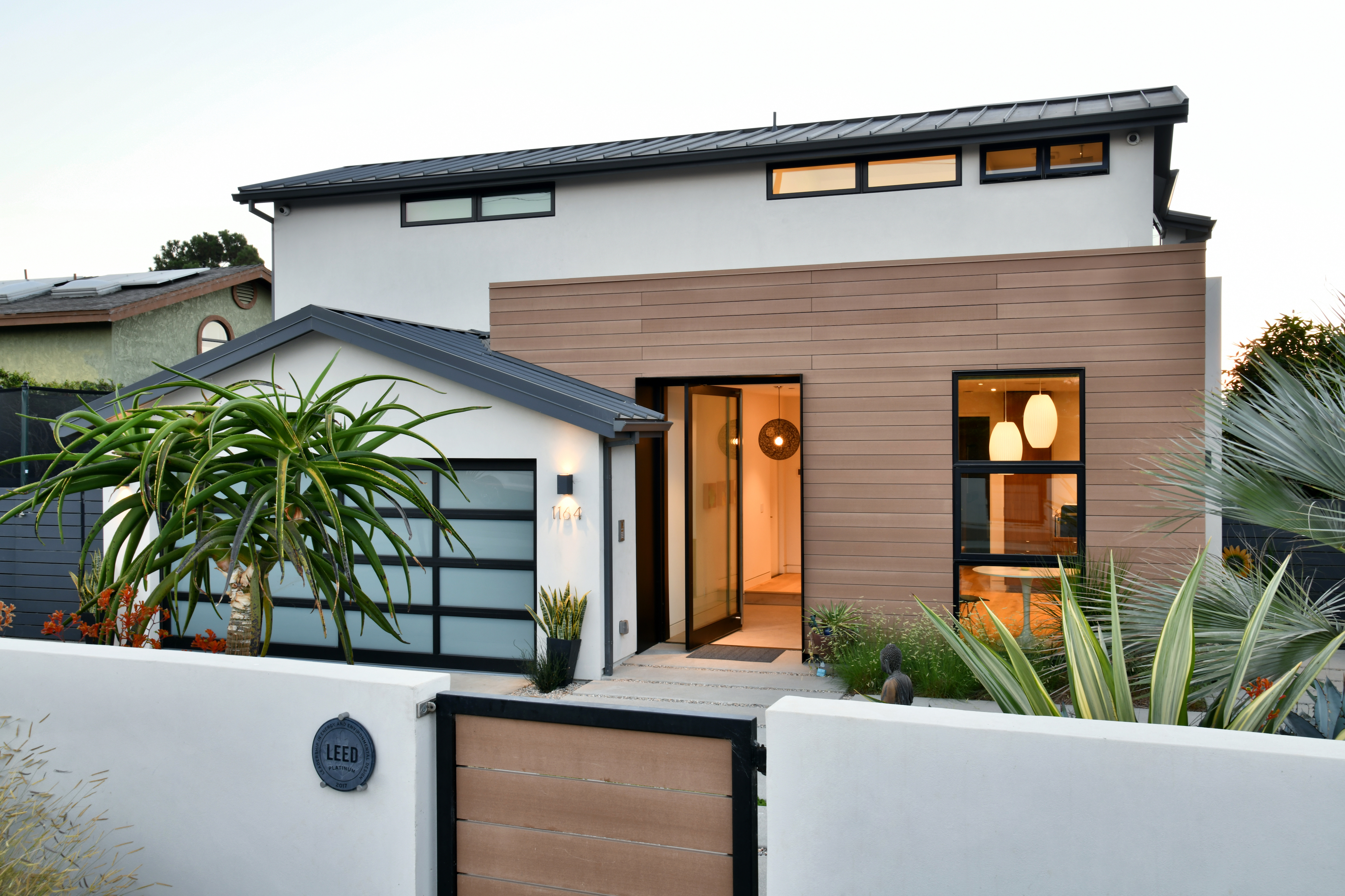 stylish contemporary leed platinum home