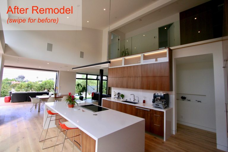 contemporary remodeled kitchen