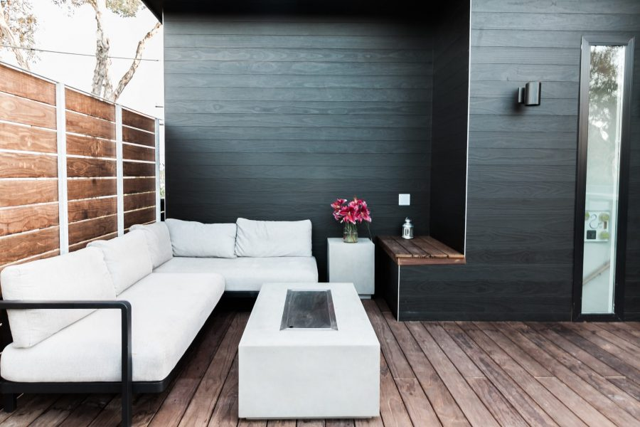 roof deck fire pit